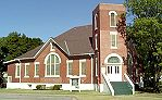 First Baptist Church in Norwich, Kansas- © photo by Susan Howell, used by permission
